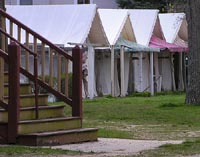 Camp Meeting Tents by Sister72