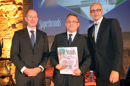 Tork ziskal oceneni Czech Business Superbrands 2014