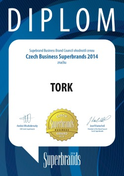 Diplom Superbrands Tork